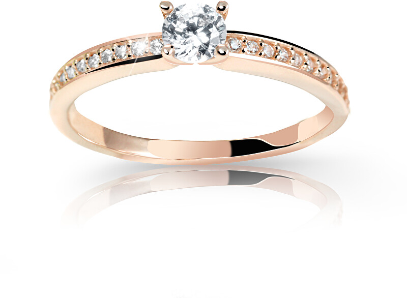 Cutie Jewellery Úchvatný trblietavý prsteň Z6713-2523-10-X-4