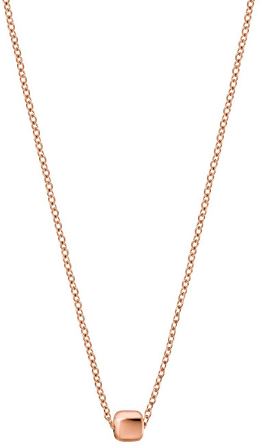 Calvin Klein Bronzový náhrdelník Side KJ5QPN100100