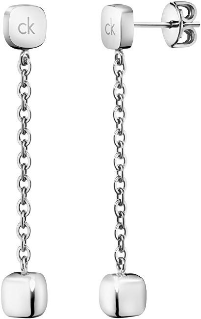 Calvin Klein Dlhé oceľové náušnice Side KJ5QME000100