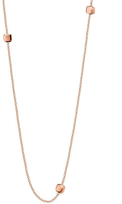 Calvin Klein Dlhý bronzový náhrdelník Side KJ5QPN100200