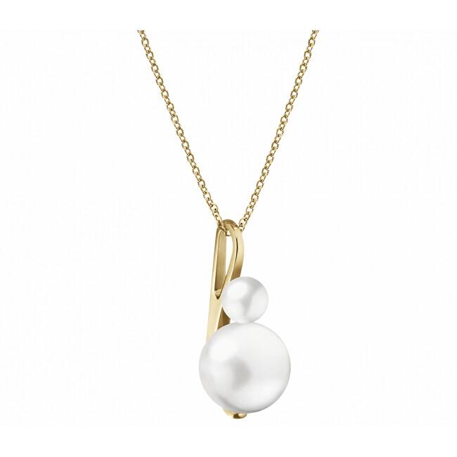 Calvin Klein Dlhý náhrdelník s perlovým príveskom Jazzy KJCEJP140100 (retiazka, prívesok)