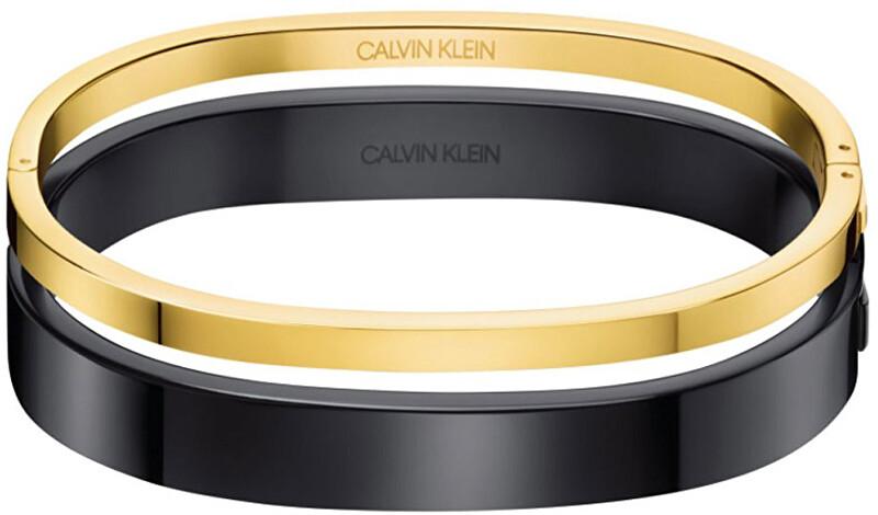 Calvin Klein Luxusné bicolor náramok Hook KJ06BD20010