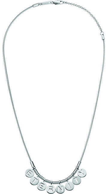 Calvin Klein Oceľový náhrdelník Note Eternity KJ6MMN000200