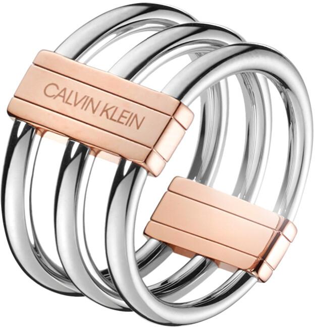 Calvin Klein Oceľový prsteň Insync KJBDPR2001