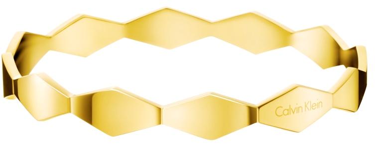 Calvin Klein Pevný zlatý náramek Snake KJ5DJD1001 60