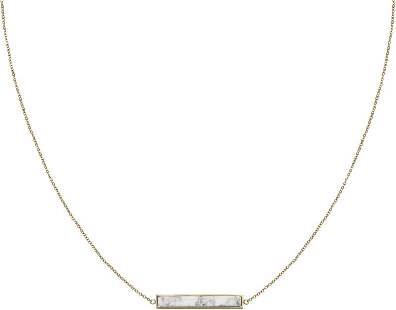 Cluse Pozlátený náhrdelník s mramorovaným príveskom CLJ21009