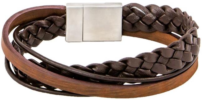 Cow Style Pánský kožený náramek Liverpool CS03-5137L