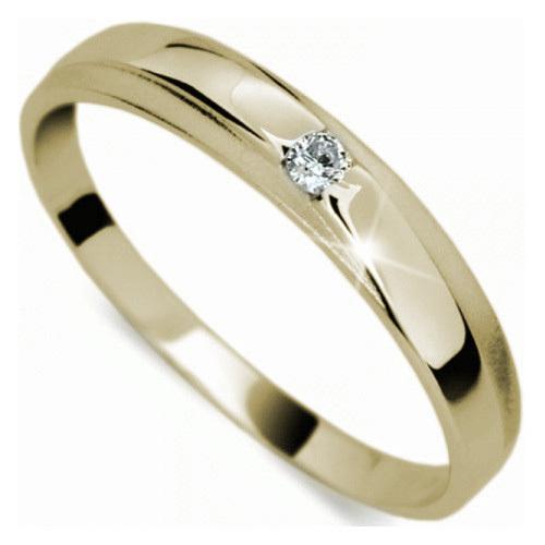 Danfil Jemný diamantový prsteň DF1617z 58 mm