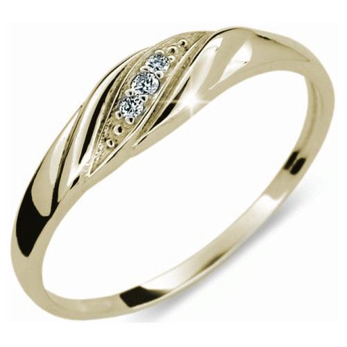 Danfil Jemný diamantový prsten DF2084z 50 mm