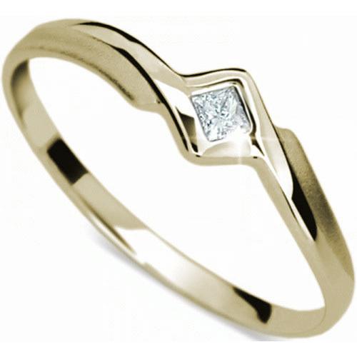Danfil Jemný zásnubní prsten DF1113z 51 mm