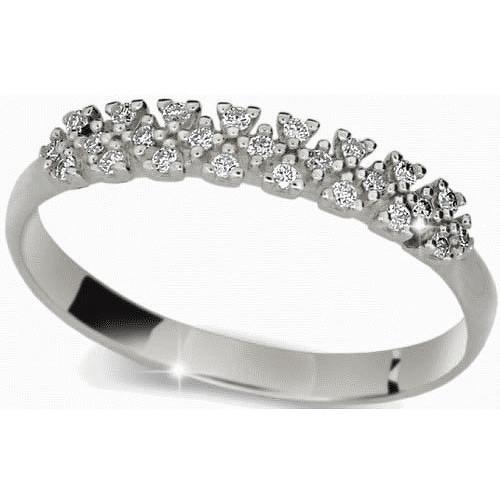 Danfil Krásný prsten s diamanty DLR2059b 49 mm