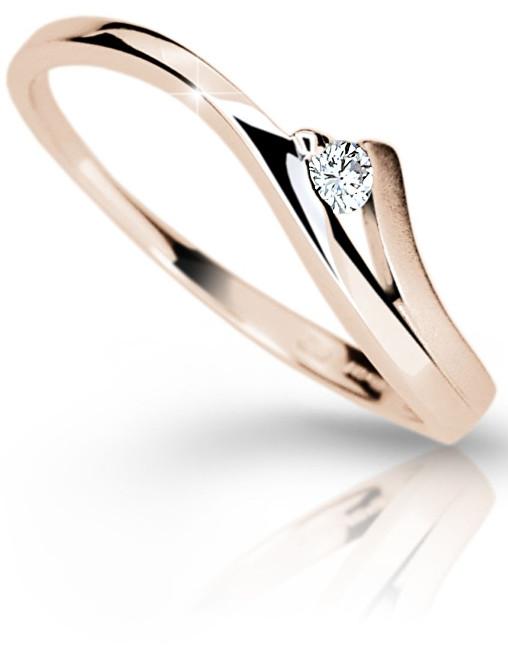 Danfil Luxusní zásnubní prsten DF1718p 55 mm