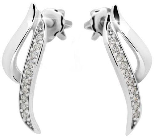 Danfil Diamantové náušnice DF2348b