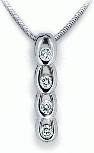Danfil Krásný diamantový přívěsek DF1683b