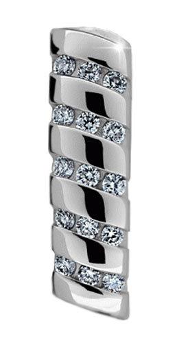 Danfil Luxusní přívěsek s diamanty DF2097b