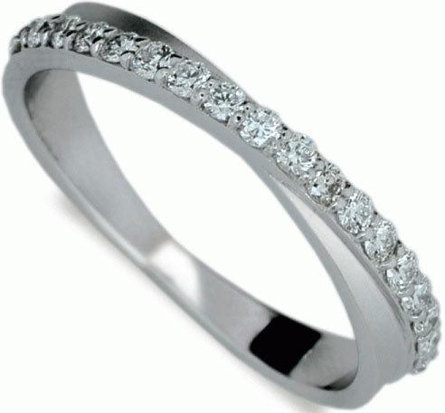 Danfil Luxusní diamantový prsten DF1972b 49 mm