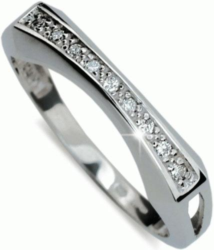 Danfil Luxusní diamantový prsten DF2007b 49 mm
