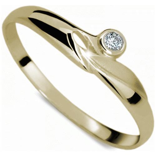 Danfil Zásnubní prsten DF1231z 61 mm