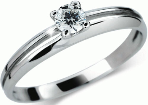 Danfil Luxusní zásnubní prsten DF1272b 49 mm