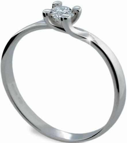 Danfil Luxusní zásnubní prsten DF1855b 49 mm