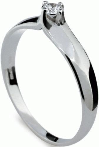Danfil Luxusní zásnubní prsten DF1891b 49 mm