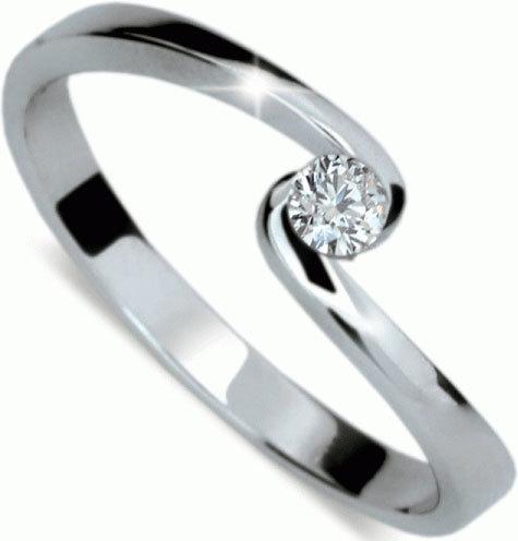 Danfil Jemný zásnubní prsten DF1934b 49 mm