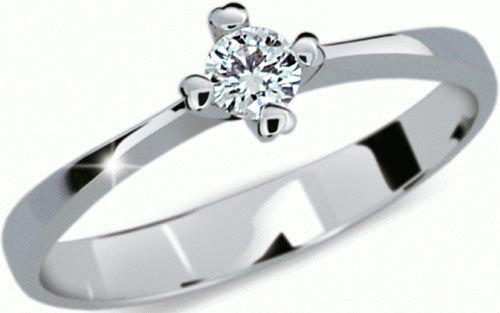 Danfil Něžný zásnubní prsten DF2089b 49 mm