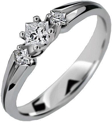 Danfil Luxusné zásnubný prsteň DLR2105b 58 mm