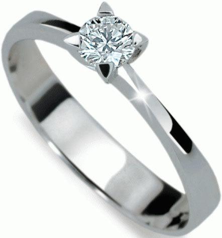 Danfil Luxusní zásnubní prsten se zirkonem DLR1895b 49 mm