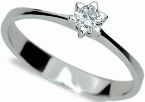Danfil Luxusní zásnubní prsten se zirkonem DLR1953b 51 mm