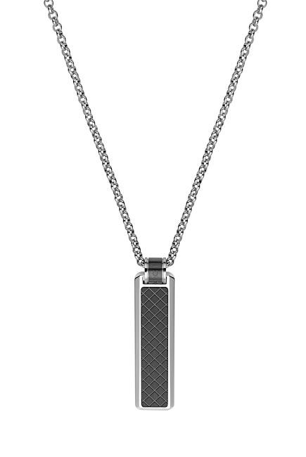 Dici Milano Pánský náhrdelník s černým vzorem DCNL50150200