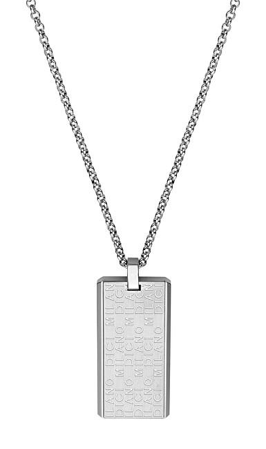 Dici Milano Ocelový náhrdelník pro muže DCNL50160100