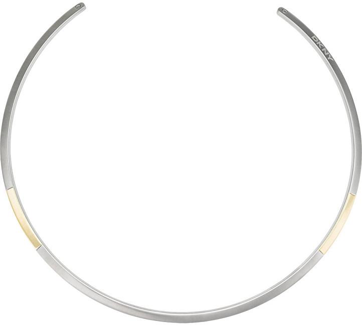 DKNY Luxusní pevný náhrdelník NJ2231040