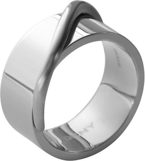 DKNY Masívní ocelový prsten NJ1860040 59 mm