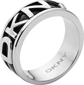DKNY Černý prsten NJ1891040 59 mm