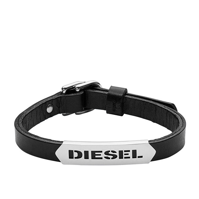 Diesel Pánský kožený náramek DX0999040