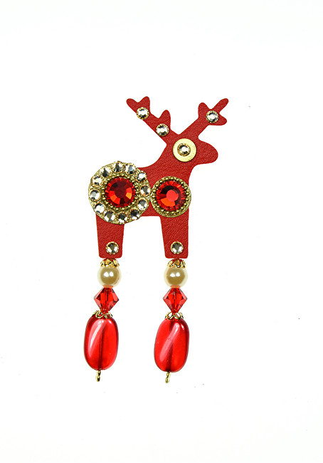 Deers Brosă mini Cerb Aria - Swarovski® Elements