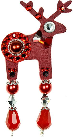 Deers Micul roșu jelíknek cu cravată de arici Berybella