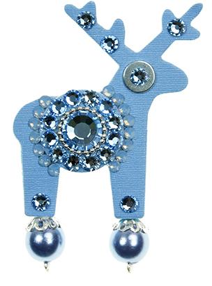 Deers Albastru deschis albastru Deer Cloudy