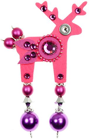 Deers Neonově růžový jelínek Rolf