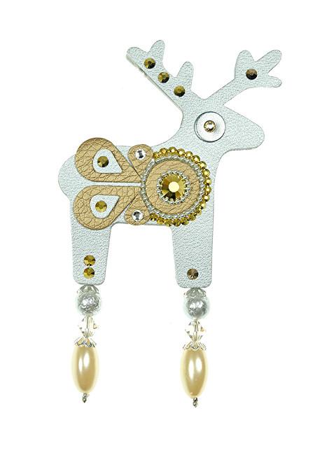 Deers Velký stříbrný jelínek Renexia