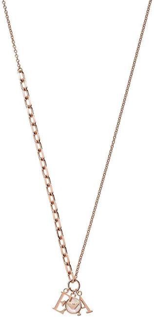 Emporio Armani Luxusní bronzový náhrdelník EG3384221