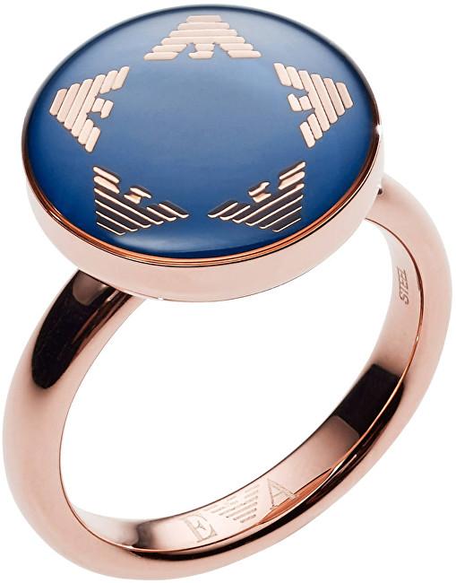 Emporio Armani Luxusný dámsky prsteň EGS2236221 52 mm