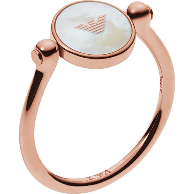 Emporio Armani Nežný prsteň EGS2161221 55 mm