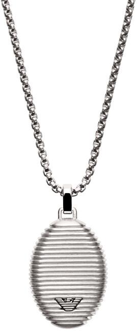 Emporio Armani Pánský ocelový náhrdelník EGS2654040