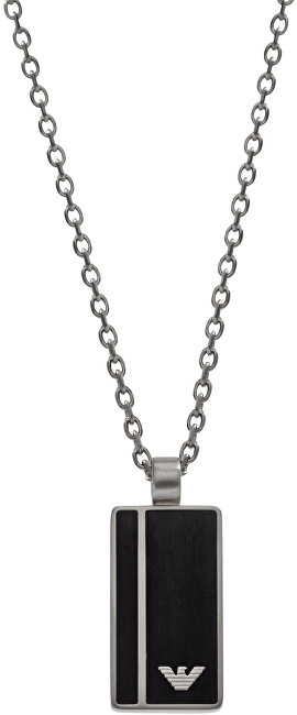 Emporio Armani Pánský ocelový náhrdelník s přívěskem EGS2031040