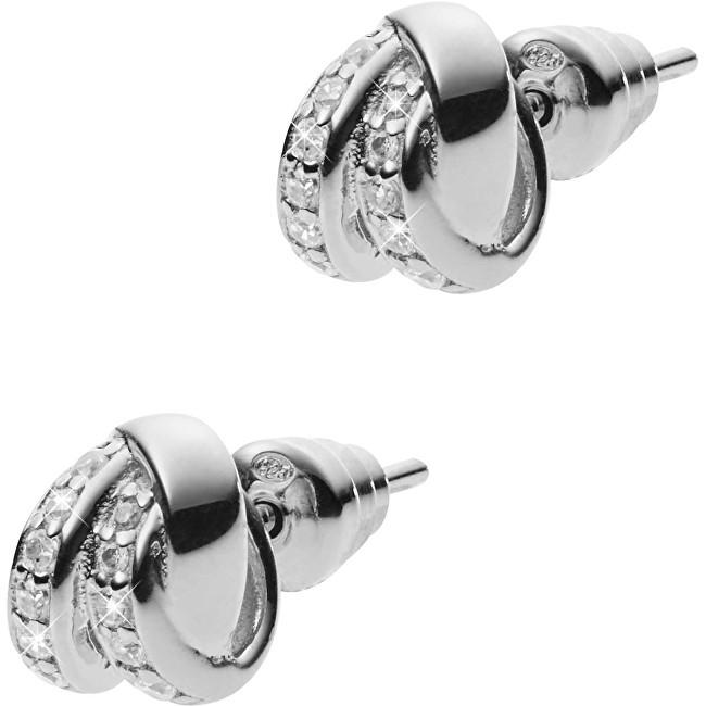 Emporio Armani Cercei din argint cu cristale EG3316040