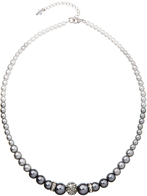 Evolution Group Náhrdelník s perlami 32008.3 grey
