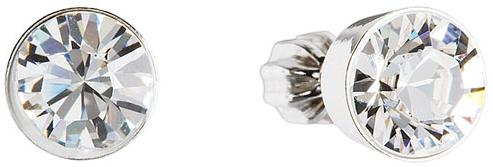 Evolution Group Náušnice s krystaly Swarovski 31113.1 krystal
