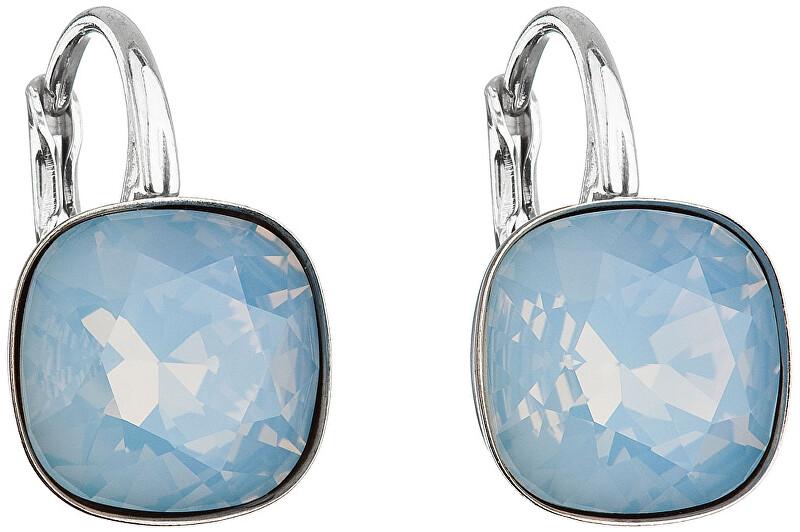 Evolution Group Stříbrné náušnice 31241.7 blue opal